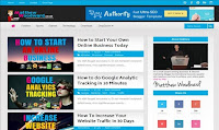 Authority adalah templat blogger premium yang terinspirasi dari blog MathewWoodward.