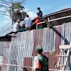 Satu Unit Rumah Diterpa Angin Puting Beliun di Dusun Maccinibaji