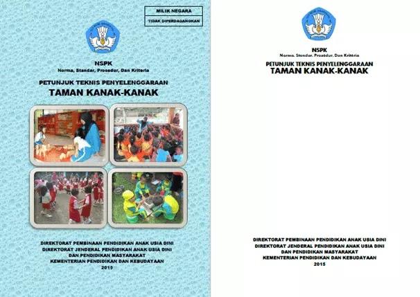 Juknis Penyelenggaraan Taman Kanak-Kanak (TK)