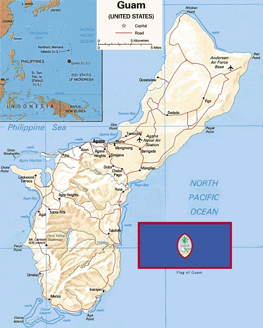 Guam, Território Norte Americano