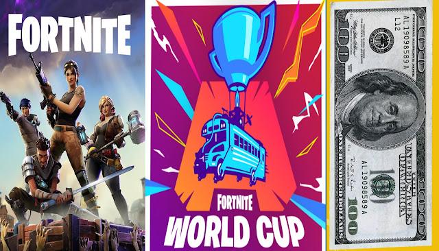 حسابات فورت نايت مجانا | Fortnite World Cup بالاشتراك مع يوتيوب
