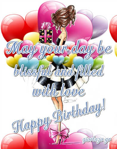 May your day be   blissful Best Happy Birthday Wishes