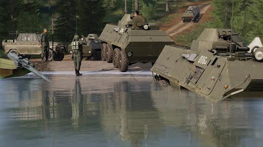 Arma3の冷戦チェコスロバキアCDLC
