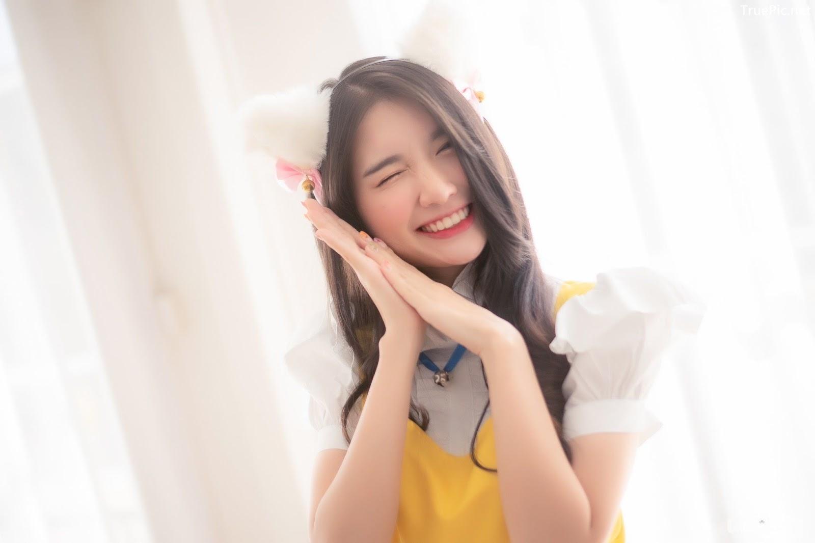 Image Thailand Model - Yatawee Limsiripothong - Cute Maid - TruePic.net - Picture-5