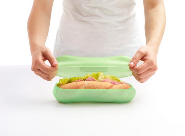 Reusable baguette case