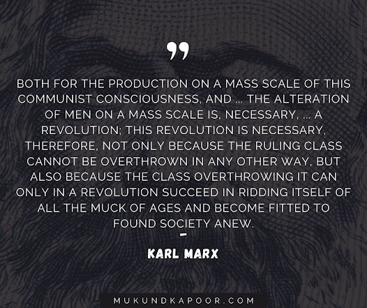Remarkable Quotes By Karl Marx On Capitalism And Communism