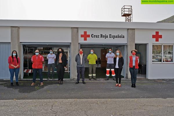 El Cabildo y Cruz Roja Española ponen en marcha el Centro Logístico Insular de Emergencias