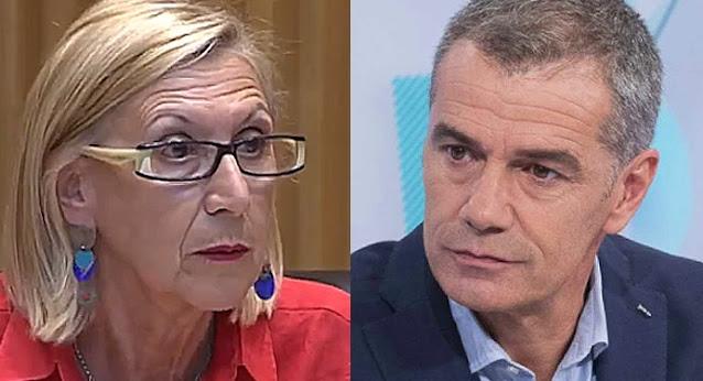Rosa Díez y Toni Cantó