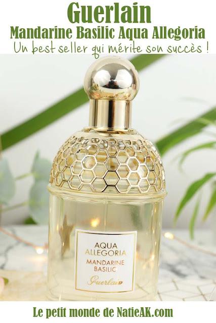 Aqua allegoria Mandarine basilic avis