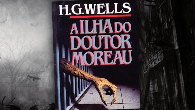 livros de terror, livros clássicos de terror, dicas de livros de terror, literatura de terror, a ilha do dr. moreau, hebert g. wells