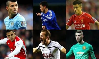 11 Pemain Terbaik Liga Inggris 2014-2015