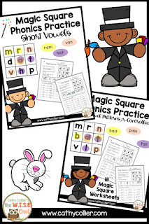 Magic Squares: Fun with Word Building
