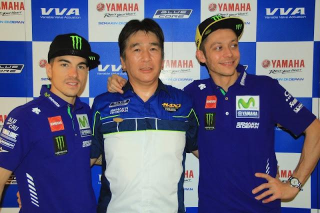 Yamaha Bertekad Raih Triple Crown Musim Ini