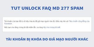 tut unlock faq mạo danh - hướng dẫn mở khóa facebook bị mạo danh