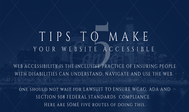 5 Tips to Make Your Web Accessible
