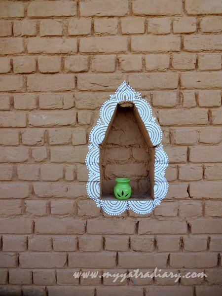 Artistic decor at The Himalayan Bungalow Boutique homestay Almora