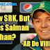 AB De Villiers about - SRK and Salman Khan