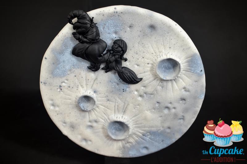 Cupcakes « Sorginen Akelarrea » - Les silhouettes d'Isabel García et  de María de Illarra