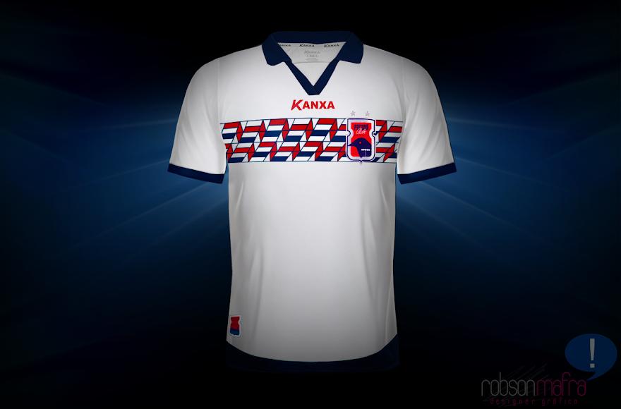 Camisa Oficial II Paraná Clube Kanxa 2012 away