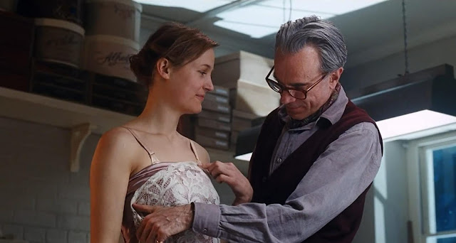 phantom thread 2018 film perancang busana