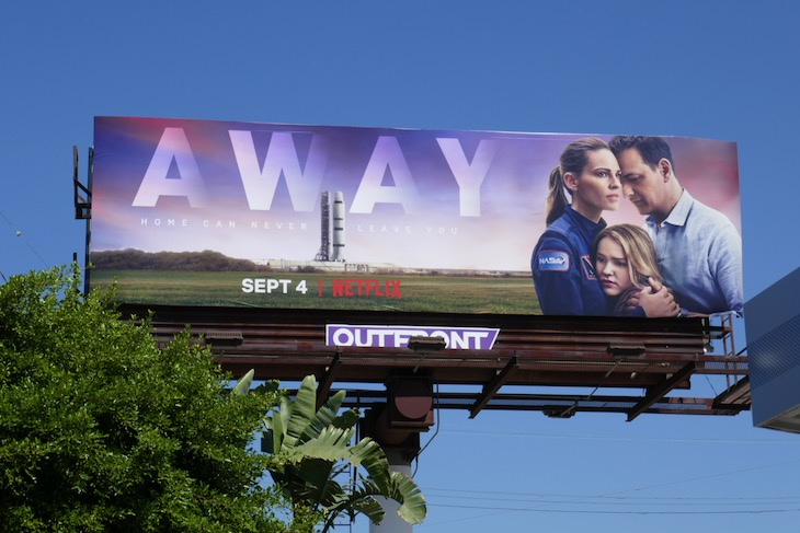 Away series premiere billboard