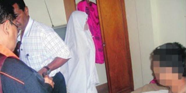 Tertangkap berduaan di Hotel, Aksi Pura-pura Wanita Ini Justru Memalukan