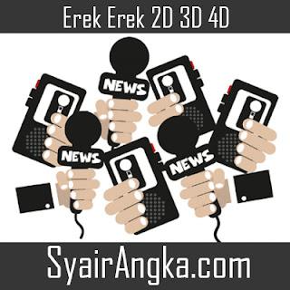 Erek Erek Menjadi Jurnalis 2D 3D 4D