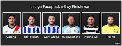 PES 2021 LaLiga Facepack #6 by Fleishman