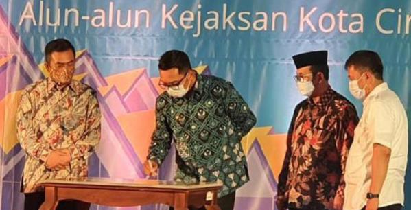 Ridwan Kamil Nobatkan Gedung Creative  Ahmad Djuhara .