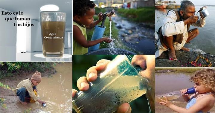 enfermedades que causan el agua contaminada
