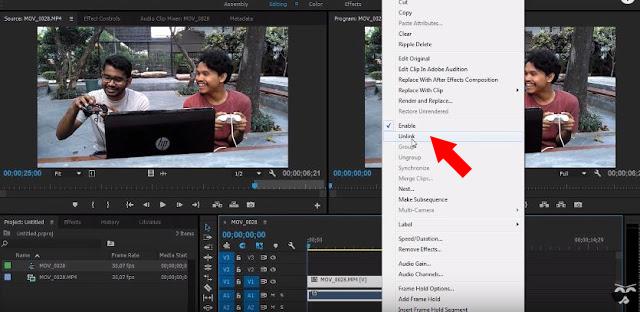 Cara Membuat Efek Stop Motion Video Freeze Time di Adobe Premiere PRO CC Terbaru