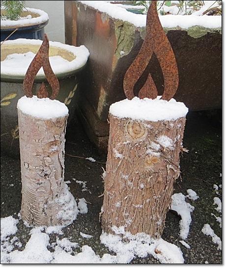 Neues vom lindenhof winterzauber im advent for Gartendeko advent