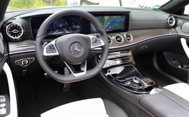 2018 Mercedes Benz E Class Cabriolet First Drive Impression