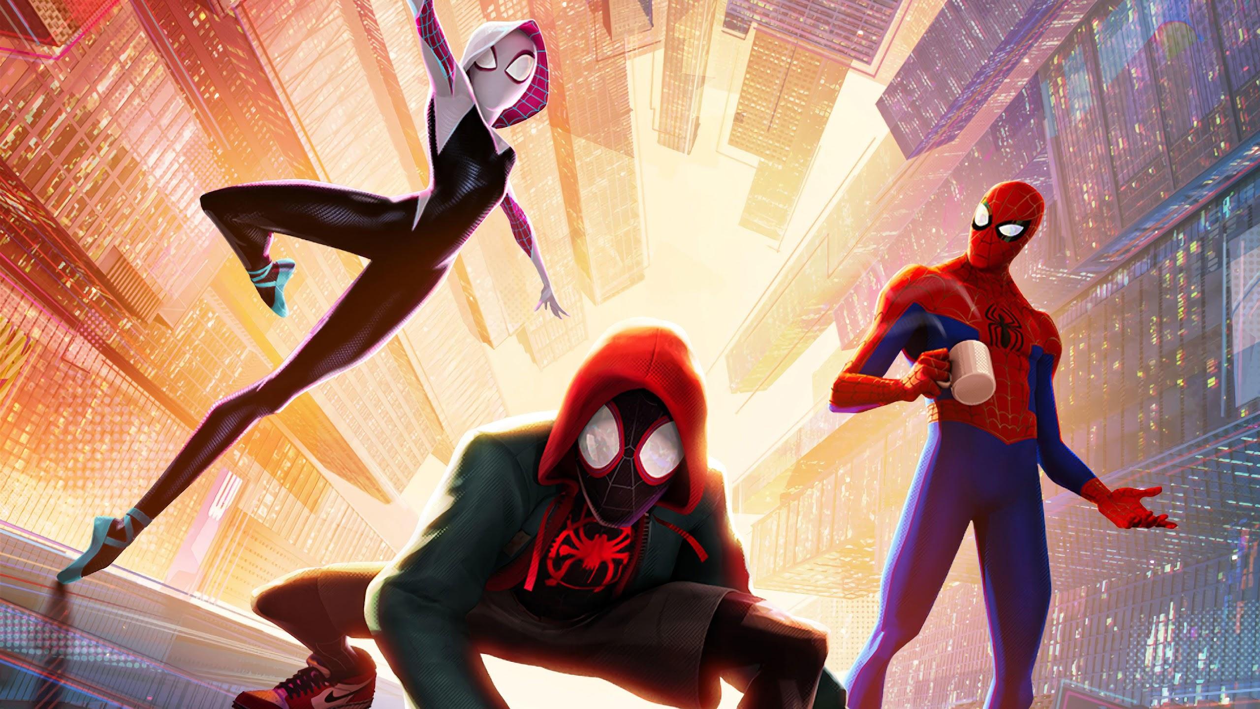 Spider Man Into The Spider Verse 4k 3840x2160 Wallpaper 9