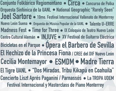 festival santa lucía monterrey 2016
