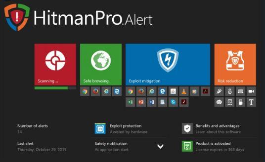 تحميل أفضل برنامج لمكافحة البرامج الضارة  Hitman Pro 3.8.18 Build 312 النسخة الكاملة