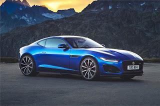 Jaguar F-Type Sportscar With V8 Engine