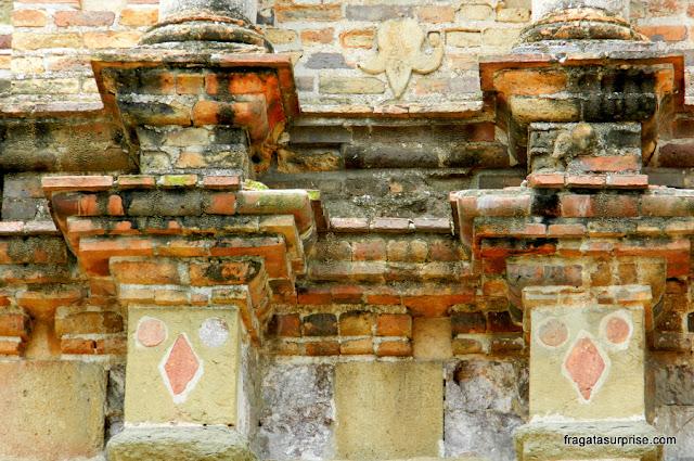 Ruínas do Colégio dos Jesuítas, primeira universidade do Panamá, no Casco Viejo