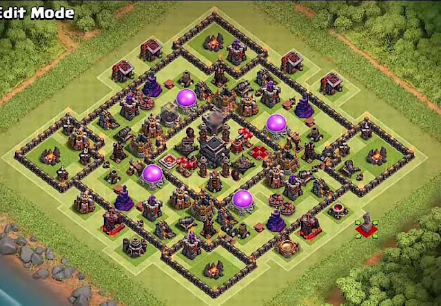 Base COC TH9 Trophy 7