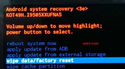 Cara Melakukan Factory Reset di Ponsel Android