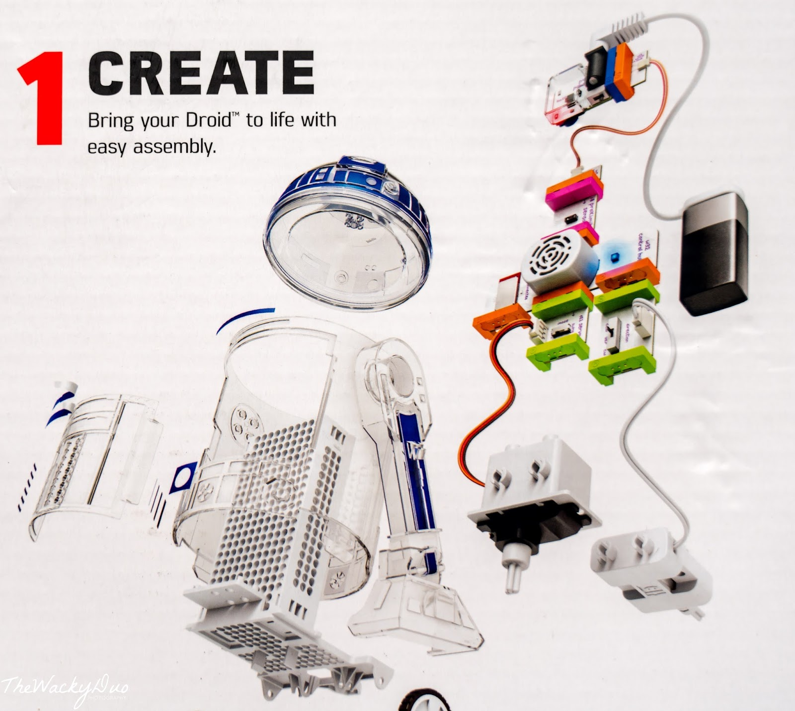 Littlebits Starwars Droid Inventor Kit @ The Tinkercademy Store