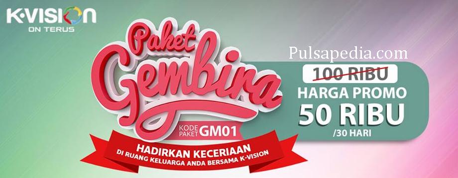 Promo Paket Gembira Bulan Oktober 2018