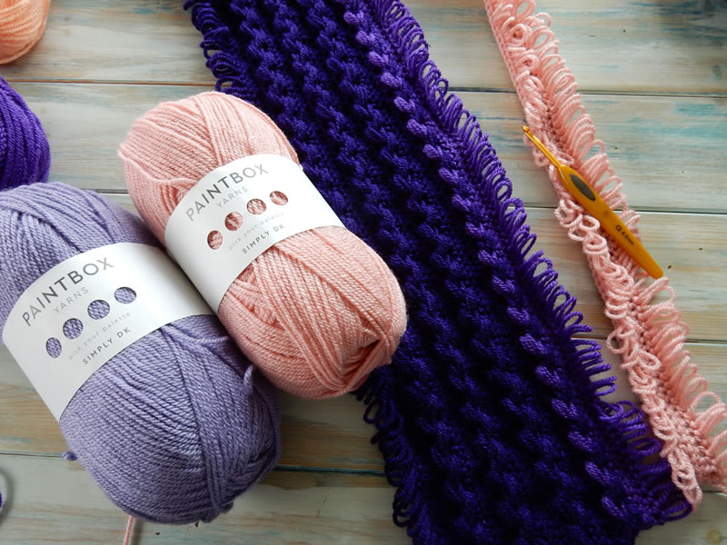 Happy Berry Crochet Paintbox Yarn Review And Free Baby Blanket