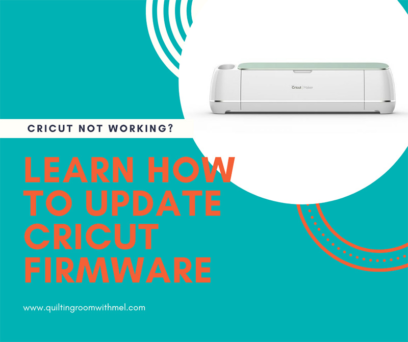 Learn how to update the firmware of your cricut maker to get it back in tip top shape.