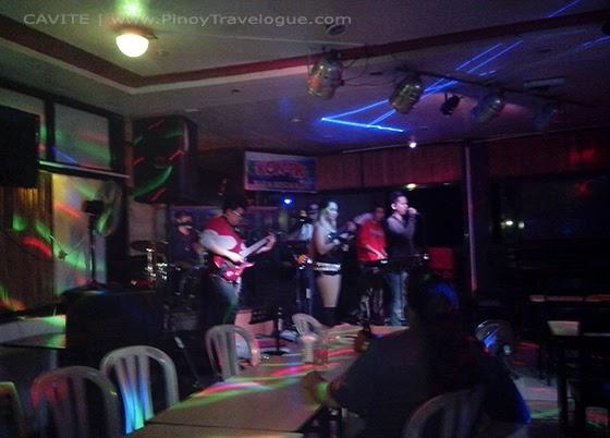 Kon-tiki Bar's live band performing