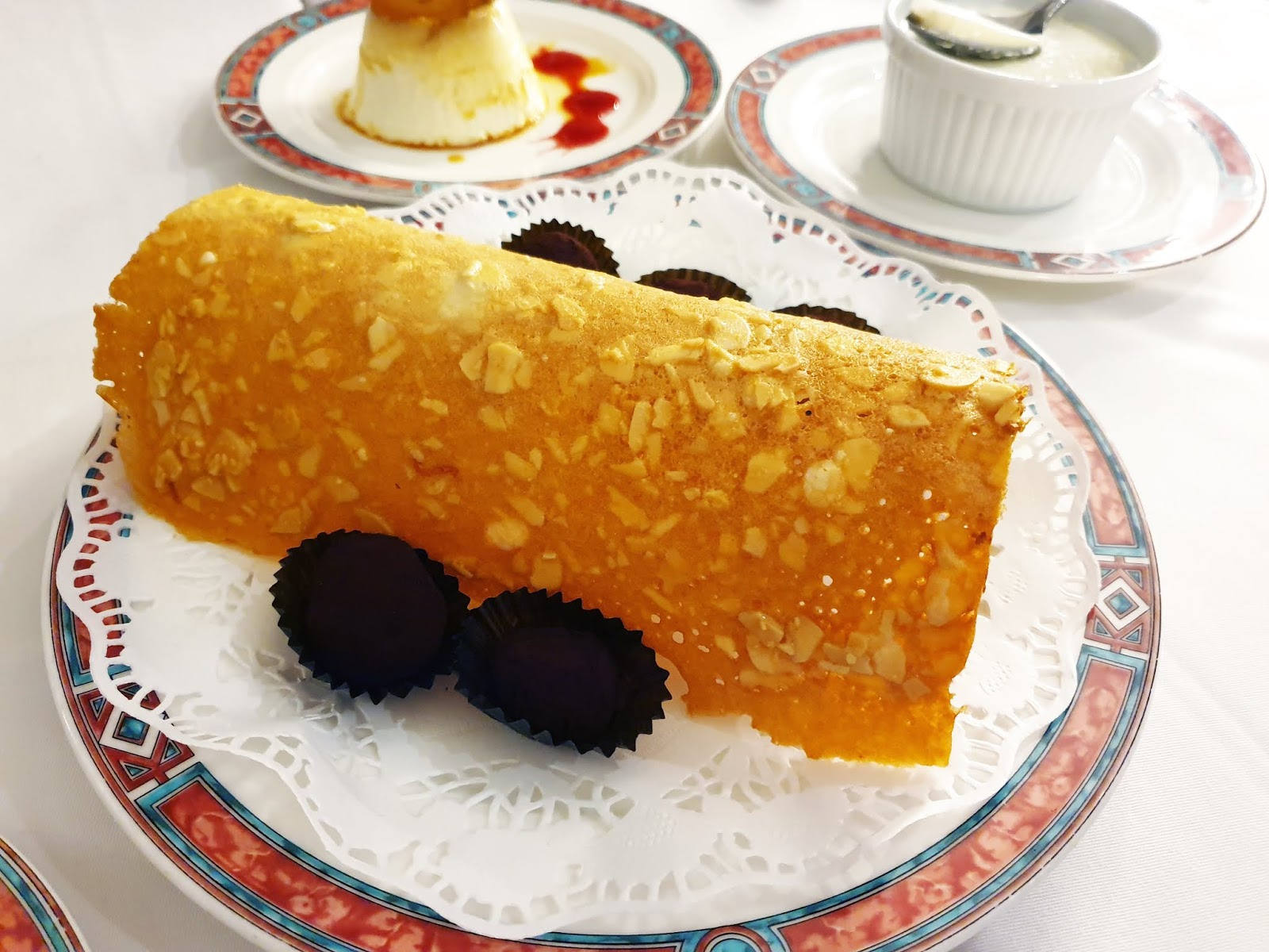 restaurante OX's Madrid postre