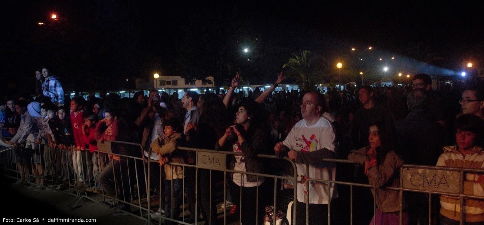 Delfim Miranda - Michael Jackson Tribute - Audience in a Show
