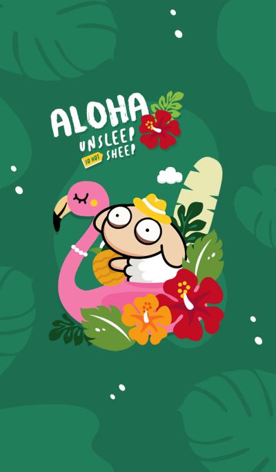 UNSLEEP SHEEP : Aloha