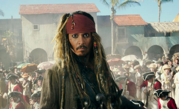 Johnny Depp returns as Captain Jack Sparrow in PIRATES OF THE CARIBBEAN: SALAZAR'S REVENGE (2017)
