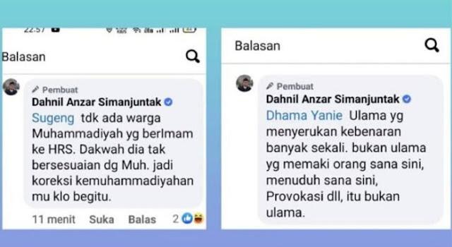 Serang Ha6ib Ri2ieq, Beredar Komentar Diduga Jubir Prabowo: Itu Bukan Ulama